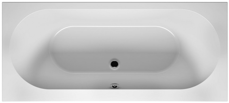 Акриловая ванна 190х80 см Riho Carolina BB5500500000000 акриловая ванна riho carolina bb5500500000000 190x80