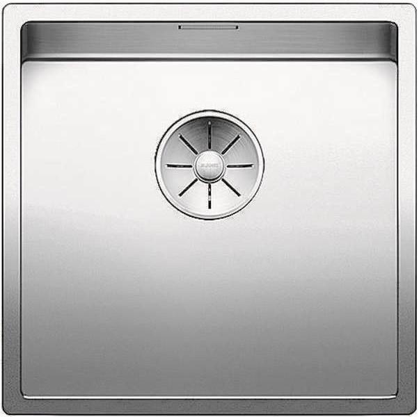 Кухонная мойка Blanco Claron 400-U InFino зеркальная полированная сталь 521573 кухонная мойка blanco claron 500 if infino зеркальная полированная сталь 521576