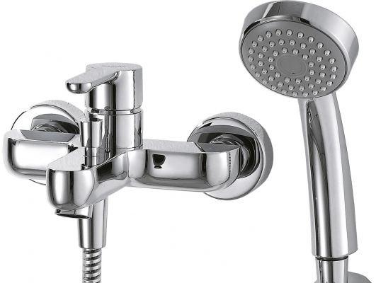 Смеситель для ванны Bravat Stream F63783C-B смеситель bravat stream f63783c b хром