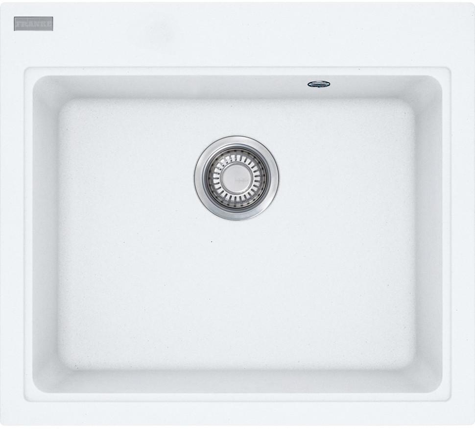 Кухонная мойка Franke Maris MRG 610-58 белый 114.0060.685 franke srg 610 белый