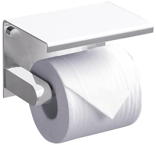 Держатель туалетной бумаги Rush Edge ED77141White держатель туалетной бумаги rush fiji fi18111
