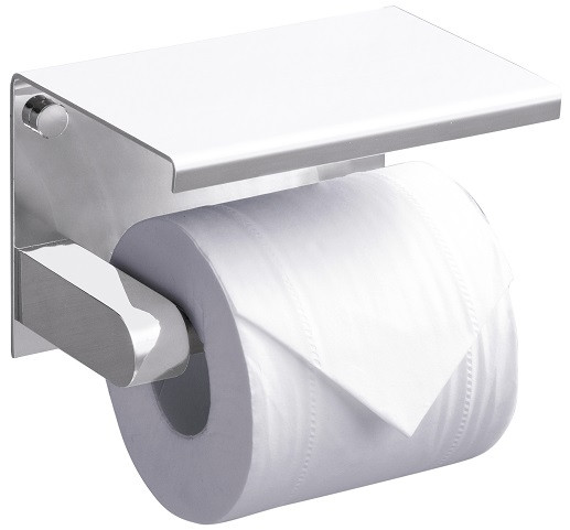 цена Держатель туалетной бумаги Rush Edge ED77141White онлайн в 2017 году