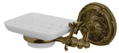 Мыльница с держателем бронза Art&Max Barocco AM-1786-Br