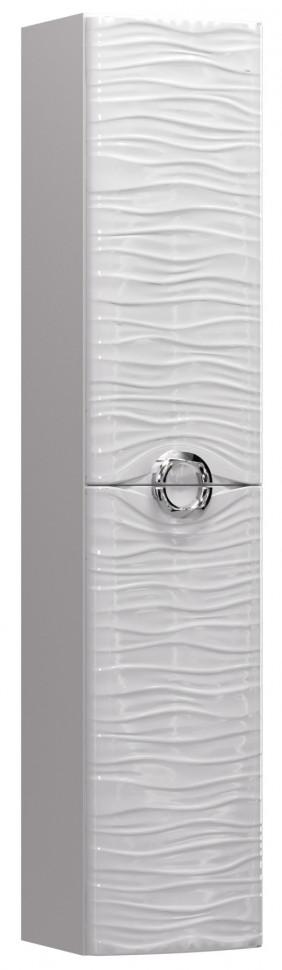Пенал подвесной белый глянец L Aima Design Breeze У48721