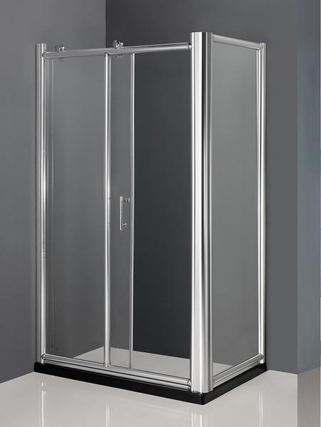 Душевой уголок с поддоном 120×80×215 см прозрачное стекло AMMARI LUXE AM-B-5L-PLUS