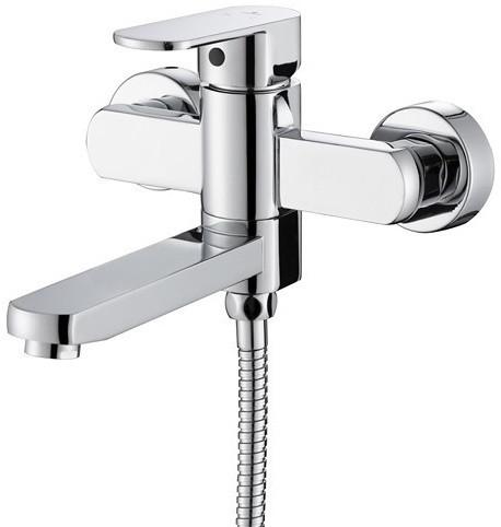 Смеситель для ванны Kaiser Sonat 34022-L смеситель для ванны коллекция sonat 34022 однорычажный хром kaiser кайзер