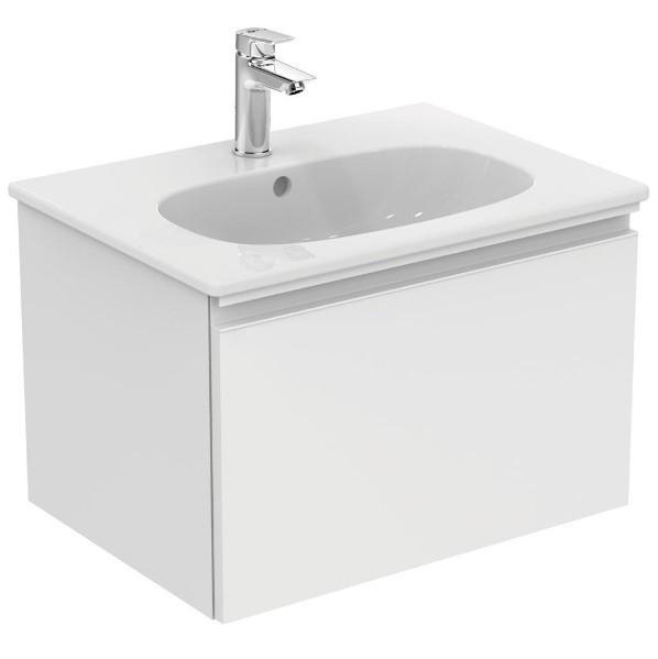 цена на Тумба белый матовый 60 см 1 ящик Ideal Standard Tesi T0046OV