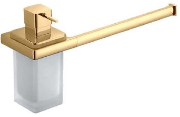 Полотенцедержатель с дозатором 32,5 см Colombo Design Lulu B6274.GOLD полотенцедержатель 38 см colombo design lulu b6209 gold