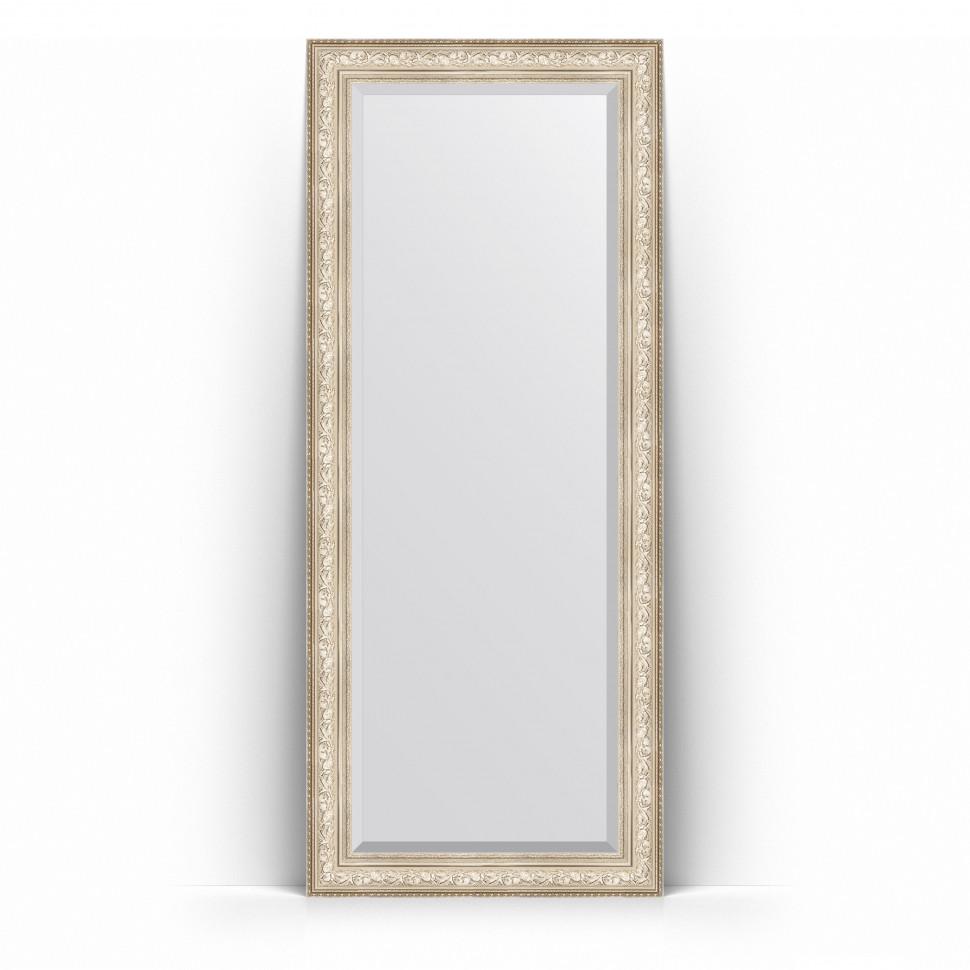 Фото - Зеркало напольное 85х205 см виньетка серебро Evoform Exclusive Floor BY 6136 зеркало напольное с фацетом evoform exclusive floor 115x205 см в багетной раме виньетка серебро 109 мм by 6176