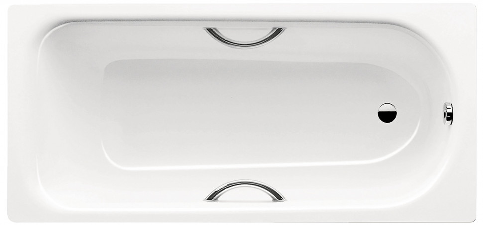 Стальная ванна 170х75 см Kaldewei Saniform Plus Star 336 с покрытием Anti-Slip стальная ванна kaldewei saniform plus 375 1 anti slip 180x80 см 112830000001