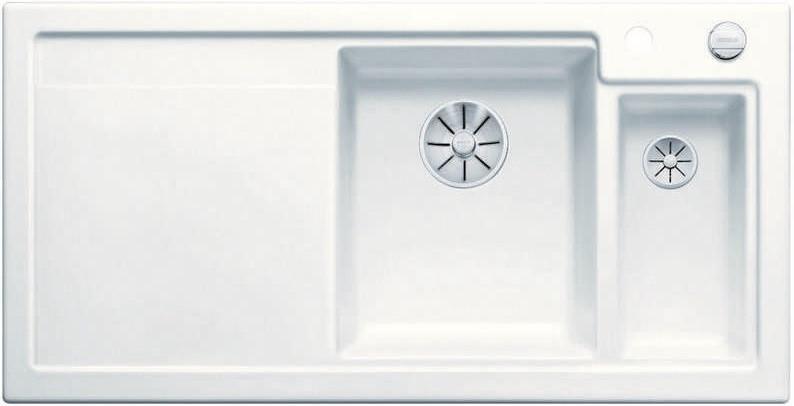 Кухонная мойка Blanco Axon II 6S InFino матовый белый 524141 кухонная мойка blanco axon ii 6s infino матовый белый 524142