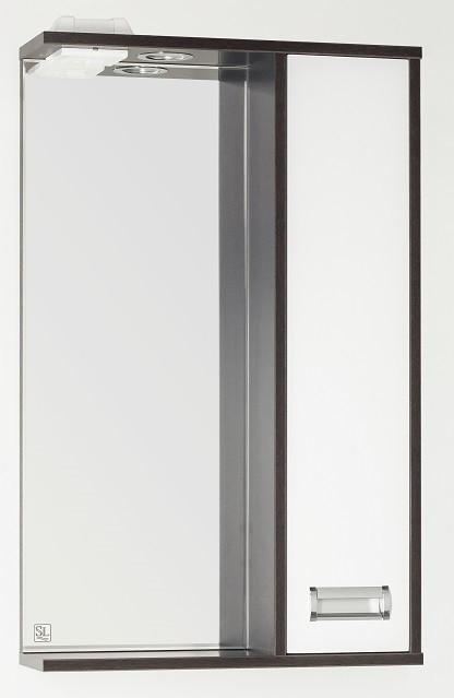 Фото - Зеркальный шкаф 50х83 см венге/белый глянец Style Line Панда Стиль LC-00000086 зеркальный шкаф 50х83 см венге белый глянец style line панда стиль lc 00000086