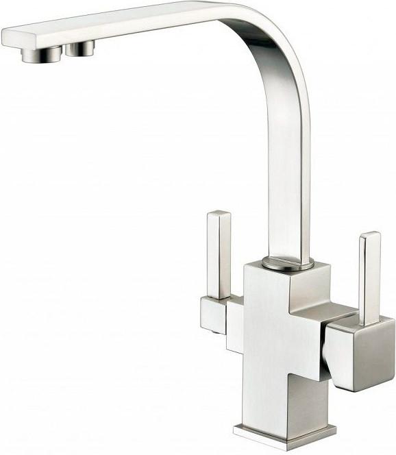 Фото - Смеситель для кухни с подключением к фильтру Zorg Sanitary ZR 332 YF SATIN zorg zr 800 k 91 9
