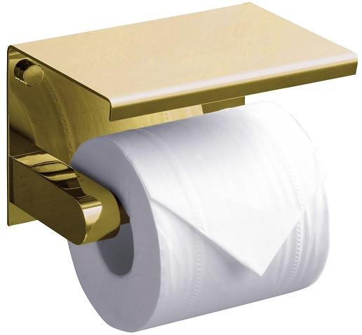 лучшая цена Держатель туалетной бумаги Rush Edge ED77141Gold