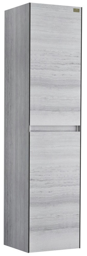 Пенал подвесной серый травертин Edelform Sirius 36478 пенал edelform миларита