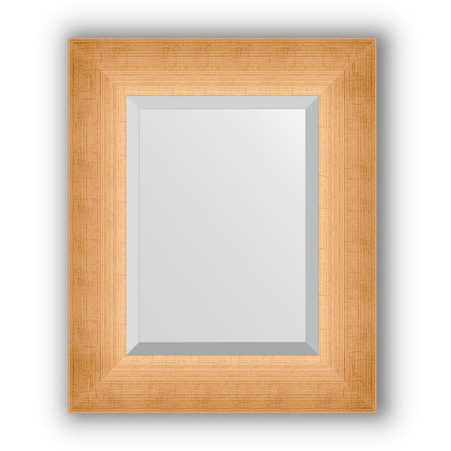 Зеркало 46х56 см травленое золото Evoform Exclusive BY 1363 зеркало evoform exclusive 176х116 травленое золото