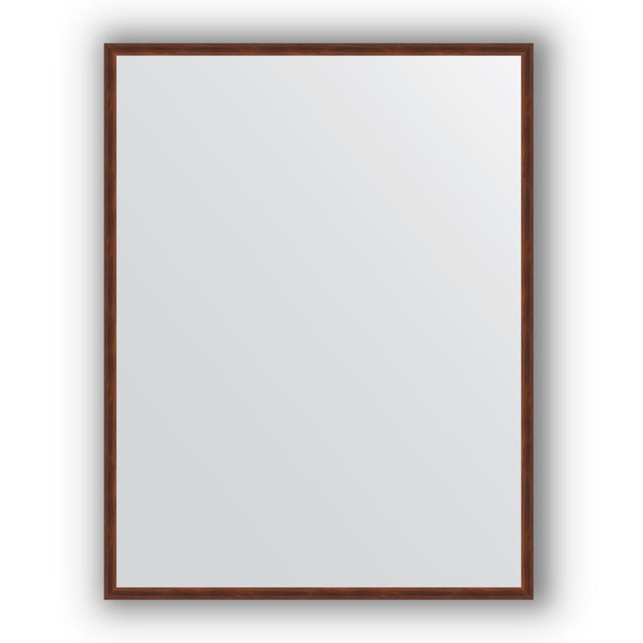 Зеркало 68х88 см орех Evoform Definite BY 0672 зеркало evoform definite 44х34 орех