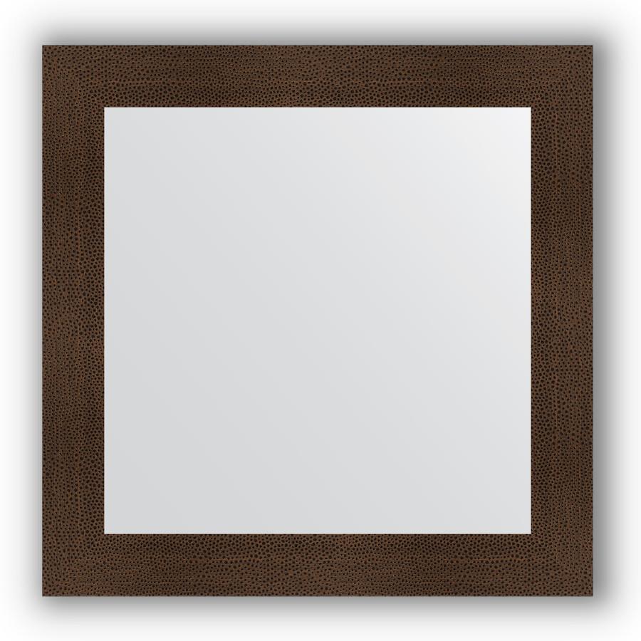 Фото - Зеркало 80х80 см бронзовая лава Evoform Definite BY 3248 зеркало evoform definite floor 201х81 бронзовая лава