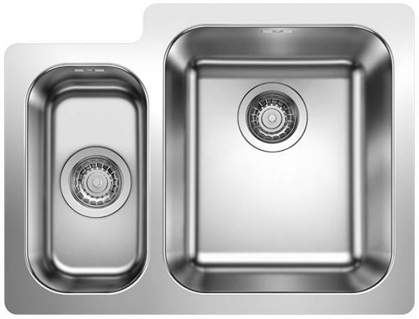 Кухонная мойка Blanco Supra 340/180-IF полированная сталь 523366
