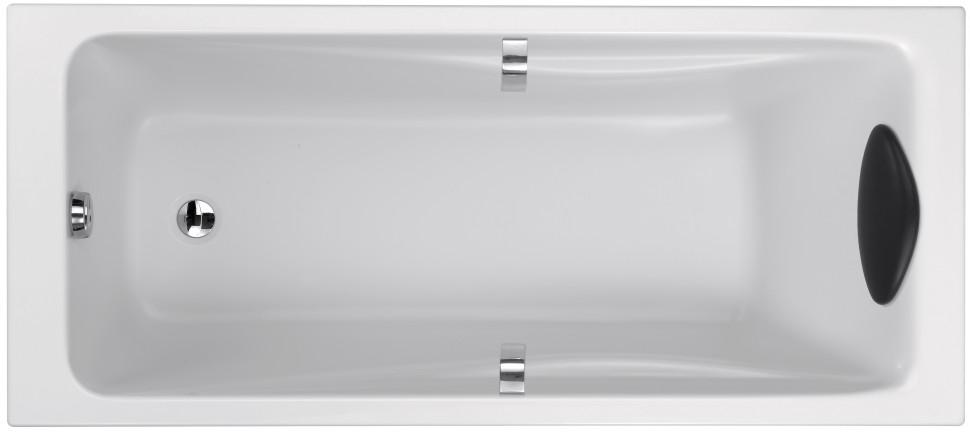 Акриловая ванна 180х80 Jacob Delafon Odeon Up E6048RU-00 ванна из искусственного камня jacob delafon elite 170x75 с щелевидным переливом e6d031 00 без гидромассажа