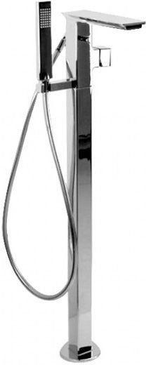 Фото - Смеситель напольный для ванны Bravat Phillis F656101C-B3-ENG смеситель на борт ванны bravat gina f565104c 2 eng