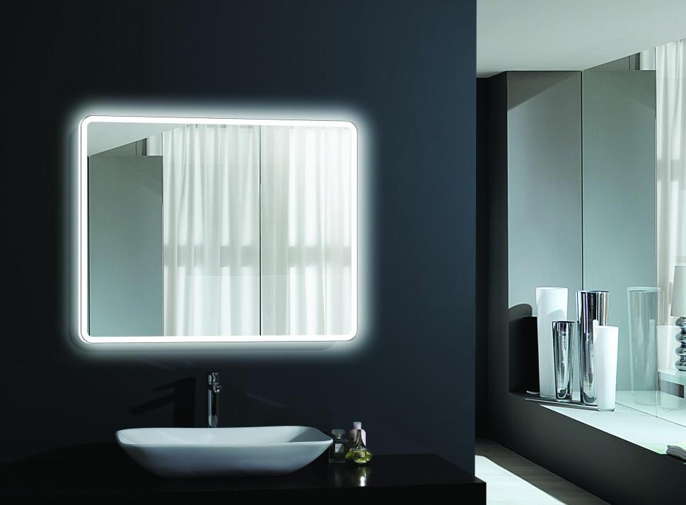 Зеркало с подсветкой 100х80 см Esbano ES-2633KD
