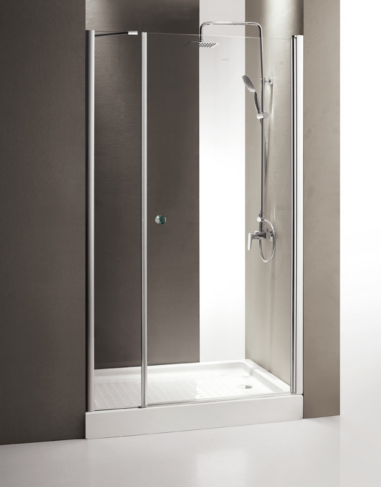 Душевая дверь распашная Cezares Triumph 130 см прозрачное стекло TRIUMPH-D-B-11-60+70-C-Cr-R душевая дверь в нишу cezares triumph triumph d b 11 40 60 p cr r