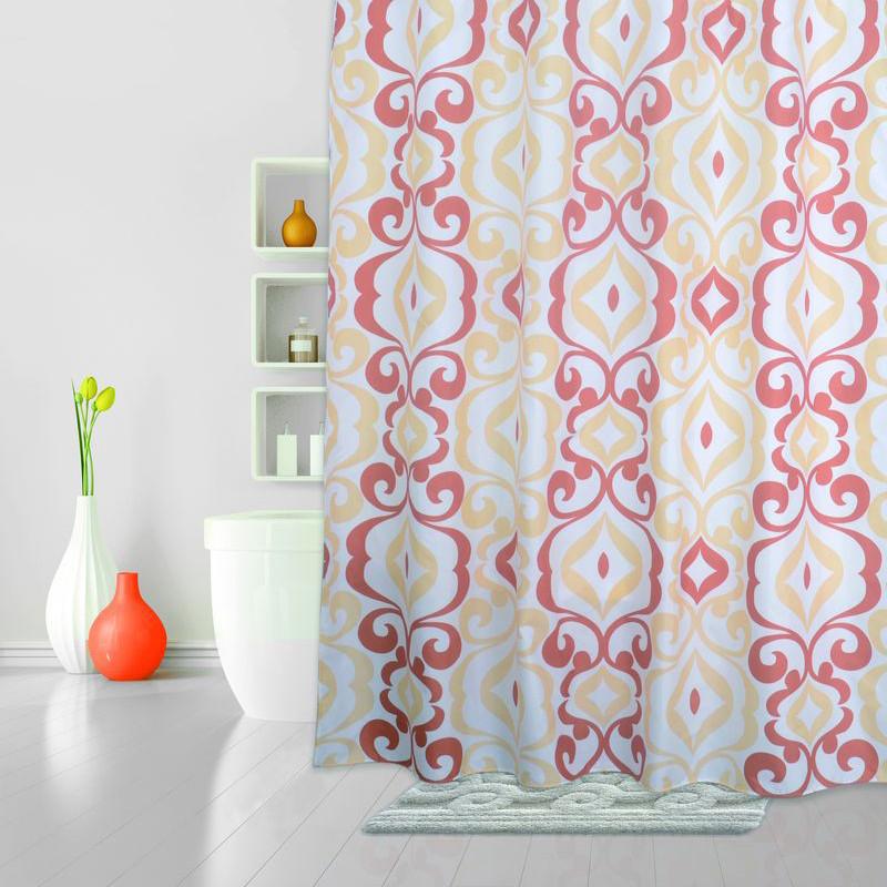 Штора для ванной комнаты IDDIS Hermitage 590P18RI11 штора для ванной комнаты iddis breeze totem 530p18ri11