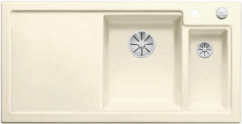 Кухонная мойка Blanco Axon II 6S InFino глянцевый магнолия 524139 schock мойка кухоннаяschock signus 90c c 150 магнолия
