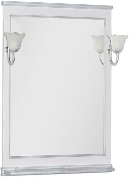 Зеркало 82,2х100 см белый Aquanet Валенса 00180144