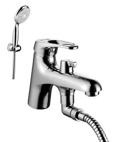 Смеситель на борт ванны Lemark Omega LM3115C смеситель lemark vista lm7651c