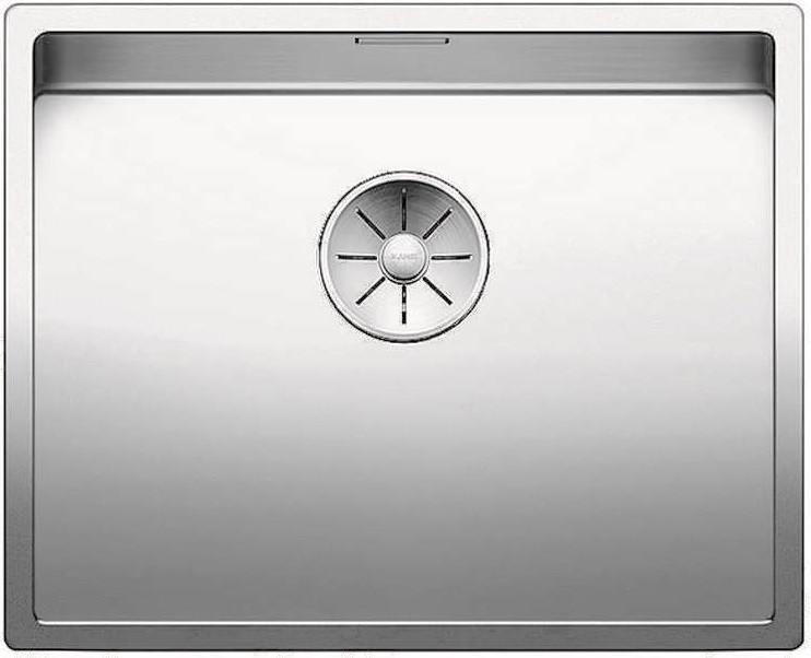 Кухонная мойка Blanco Claron 500-U InFino зеркальная полированная сталь 521577 кухонная мойка blanco claron 500 if infino зеркальная полированная сталь 521576