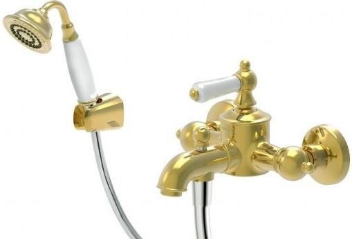 Смеситель для ванны Bravat Art F675109G-B