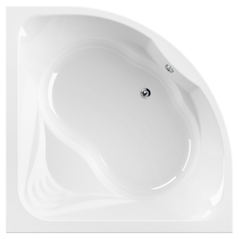 Акриловая ванна 140х140 см Cezares Cetina CETINA-140-140-41 цена