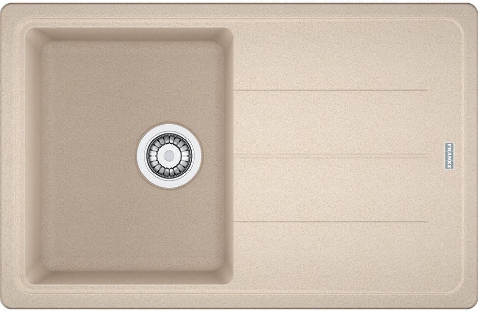 Кухонная мойка Franke Basis BFG 611 бежевый 114.0259.923 кухонная мойка franke rog 611 с бежевый