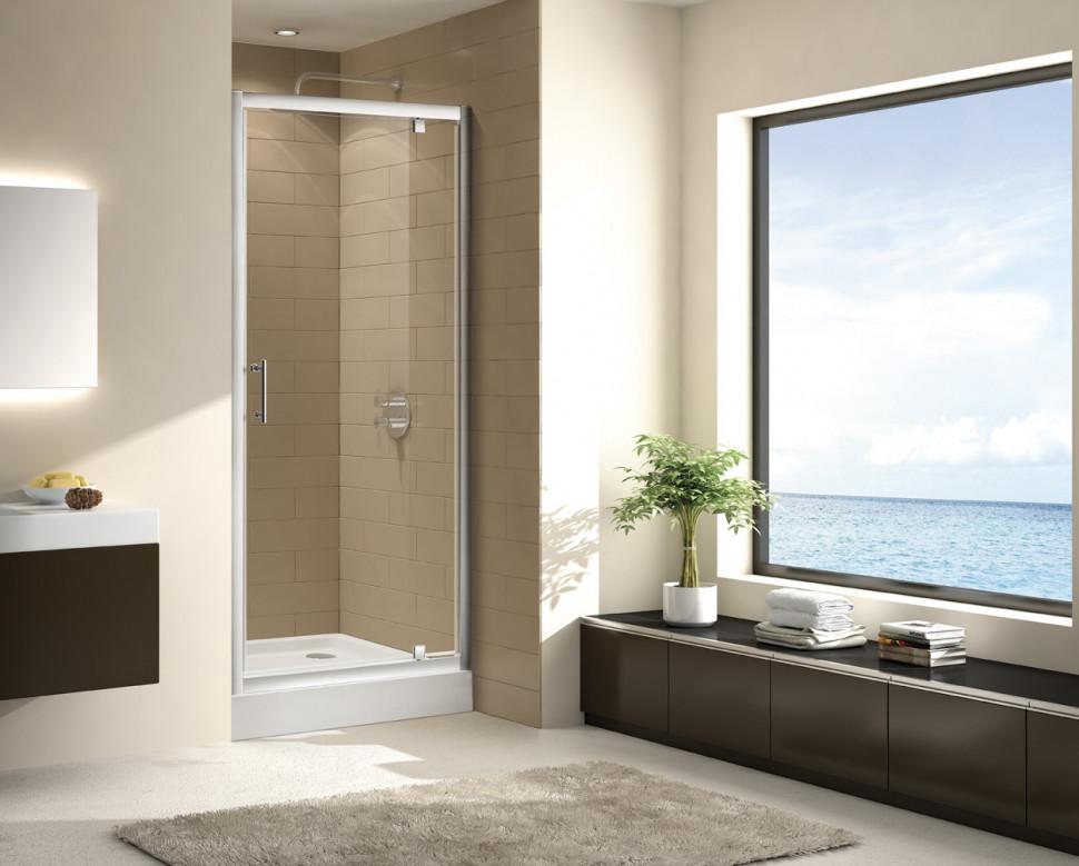 Душевая дверь распашная Cezares Eco 90 см текстурное стекло ECO-O-BA-1-90-P-Cr душевая дверь распашная cezares eco 90 см прозрачное стекло eco o b 2 90 c cr