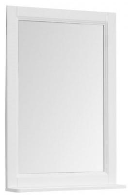 Зеркало 61х89,5 см белый матовый Aquanet Бостон 00209675 премьер бостон 1100 2 белый зеркало зеркало