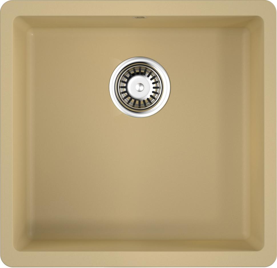 Кухонная мойка марципан Artgranit Omoikiri Kata 44-U-MA цена