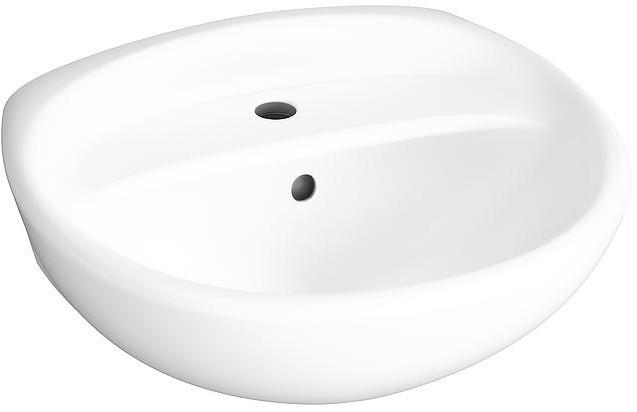 Раковина 61х48,5 см белый матовый Gustavsberg Estetic C+ 410360S3 цена