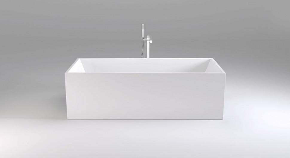 Акриловая ванна 178,5х80 см Black & White Swan 107SB00