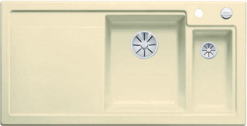 Кухонная мойка Blanco Axon II 6S InFino жасмин 524143 кухонная мойка blanco axon ii 6s infino матовый белый 524142