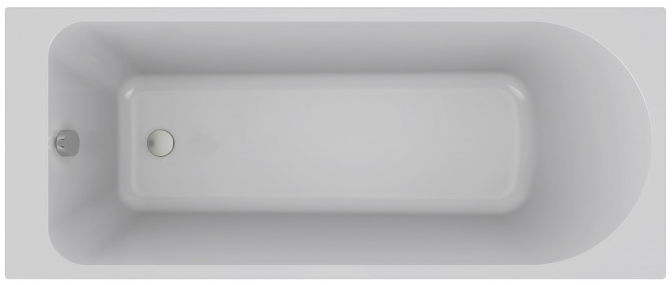 Ванна из материала Flight 170х70 см Jacob Delafon Odeon Rive Gauche E6D151-00 ванна из искусственного камня jacob delafon elite 170x75 с щелевидным переливом e6d031 00 без гидромассажа
