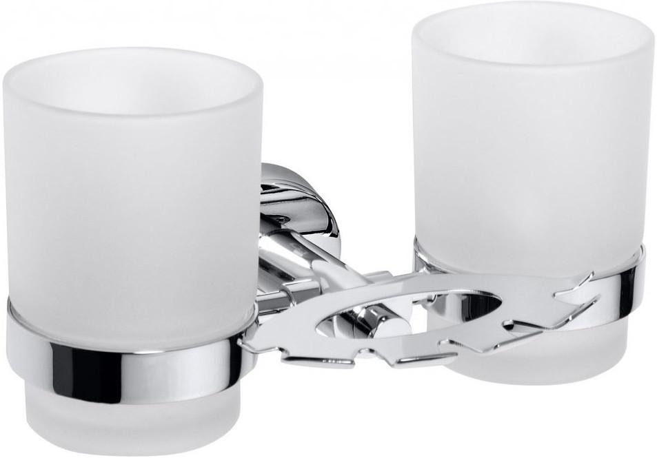Держатель зубных щеток со стаканами Bemeta Omega 104110042 графин со стаканами luminarc e0356