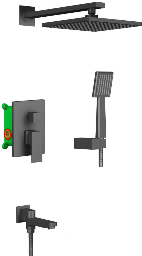 Душевой комплект 215 мм Timo Selene SX-3069/03SM душевая система timo selene sx 2069 03sm