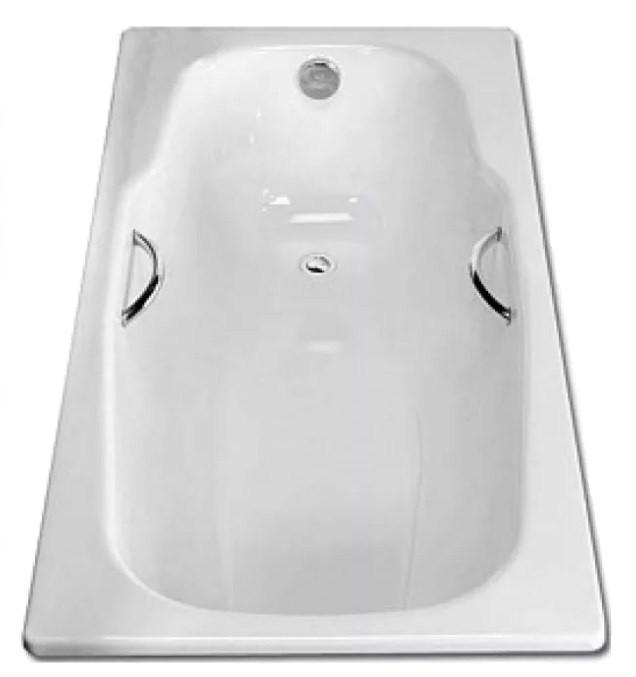 Стальная ванна 170х80 см с отверстиями для ручек BLB Atlantica HG B70J handles стальная ванна 180х80 см blb atlantica b80a