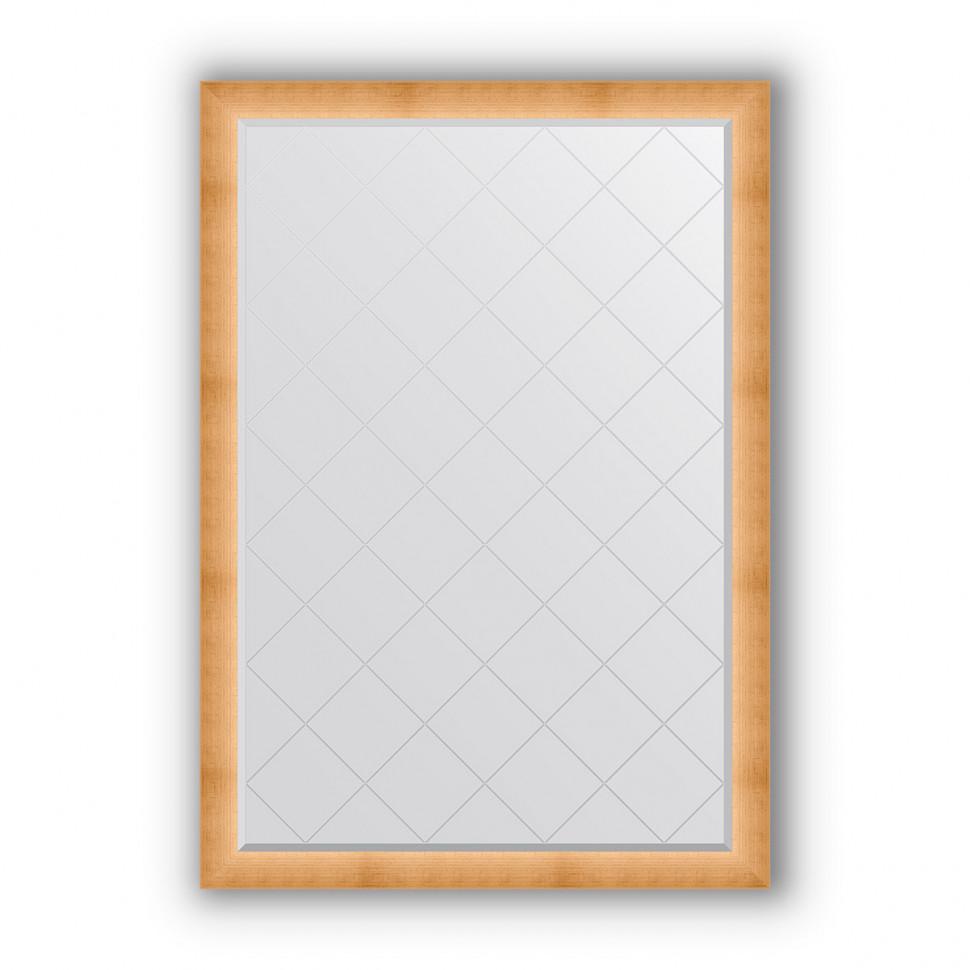 Зеркало 131х186 см травленое золото Evoform Exclusive-G BY 4528 зеркало evoform exclusive 176х116 травленое золото