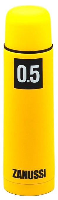 Термос 0,5 л Zanussi Cervinia ZVF21221CF термос с металлической колбой cervinia 0 5 л желтый zvf21221cf zanussi