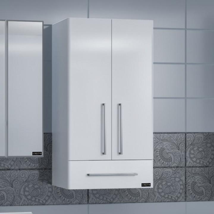 Шкаф подвесной белый глянец Санта Вегас 426003