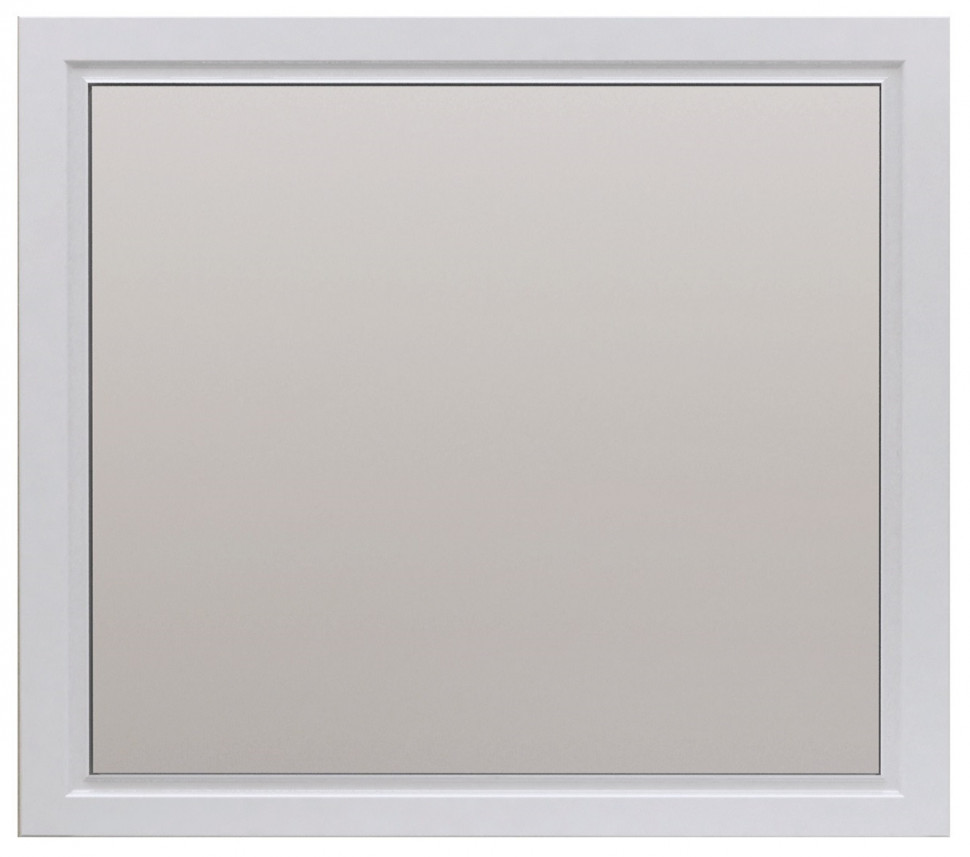 Зеркало 105х85 см белый глянец 1Marka Прованс У71972 недорого