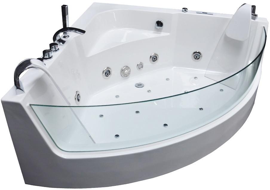Акриловая гидромассажная ванна 150х150 см Grossman GR-15015